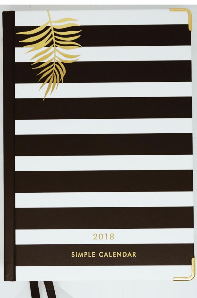 Simple_Calendar2018_front_01