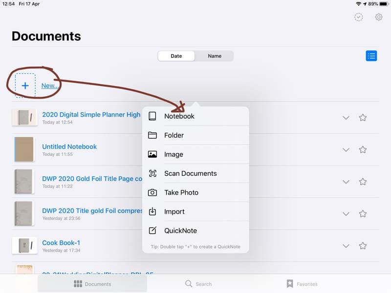 Prosty sposób na udoskonalenie pracy z Digital Planner na przykładzie aplikacji GoodNotes. Jeśli jesteś fanką planowania w ogóle, wiesz, że prawdziwa organizacja nie może się obejść bez karteczek, kolorowych stickerów i dodatkowych miejsc na notatki, prawda?